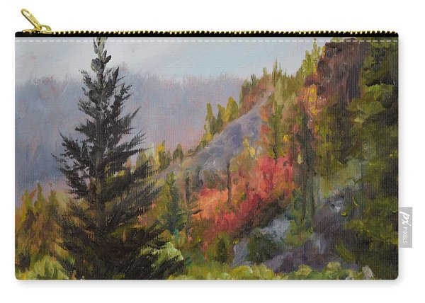 Mountain Slope Fall Carry-all Pouch