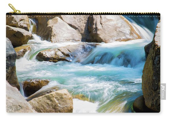 Mountain Spring Water Carry-all Pouch