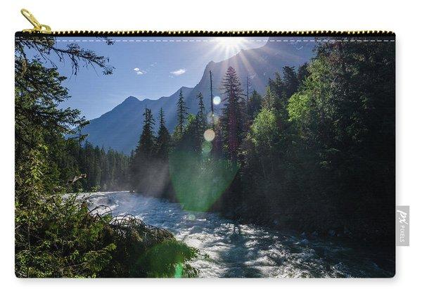 Mountain Sunburst Carry-all Pouch