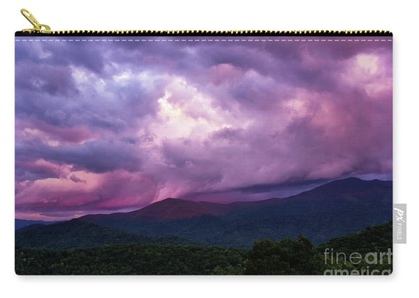 Mountain Sunset In The East Carry-all Pouch