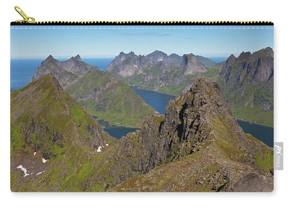 Mountain View From Munken Carry-all Pouch