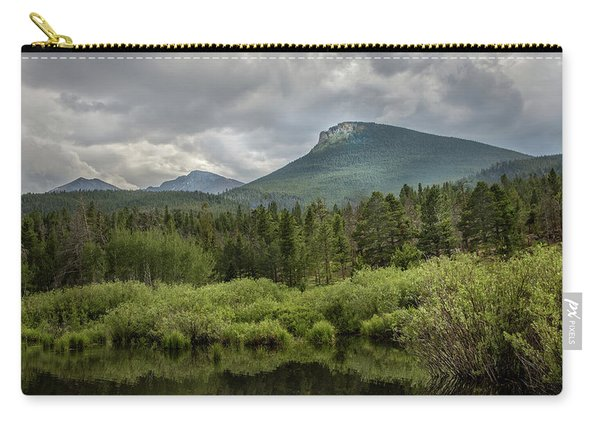 Mountain View From The Marsh Carry-all Pouch