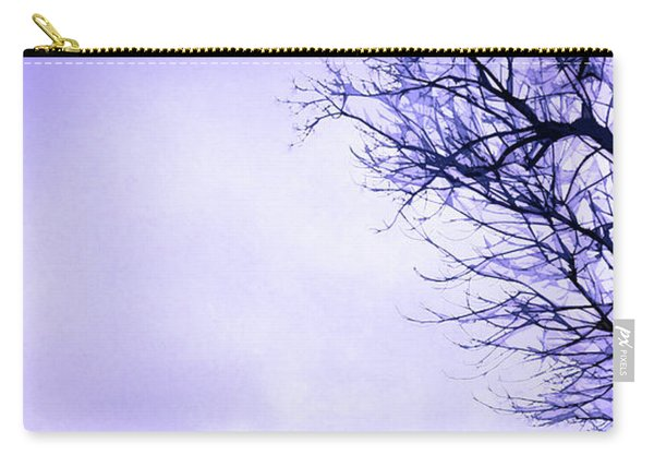 Carry-all Pouch featuring the digital art Mountain Vista by Gina Harrison