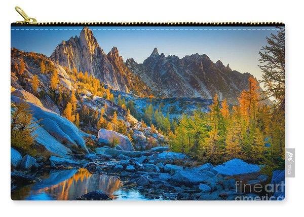 Mountainous Paradise Carry-all Pouch