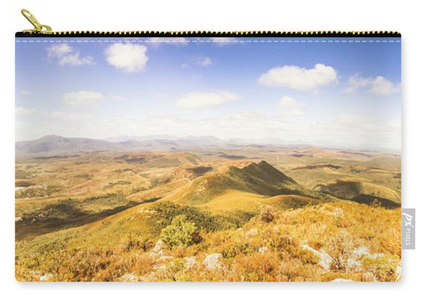 Mountains And Open Spaces Carry-all Pouch