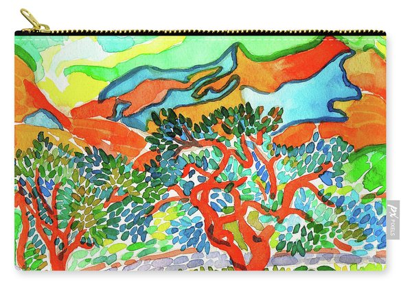 Mountains At Collioure Carry-all Pouch