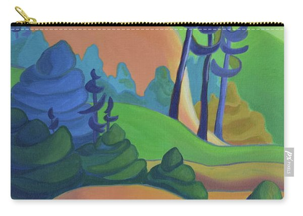 Hills In Spring Carry-all Pouch