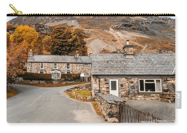 Carry-all Pouch featuring the photograph Mountains In The Back Yard by Nick Bywater