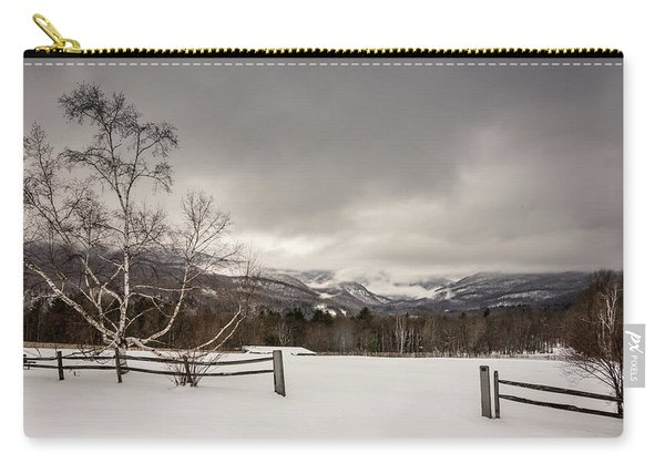 Mountains In Winter Carry-all Pouch