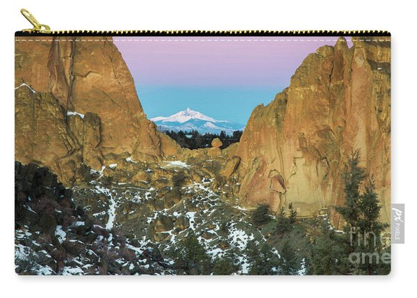 Mountains Through Smith Rock Carry-all Pouch