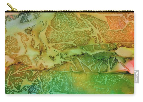 Mountains, Trees, Icy Seas Carry-all Pouch