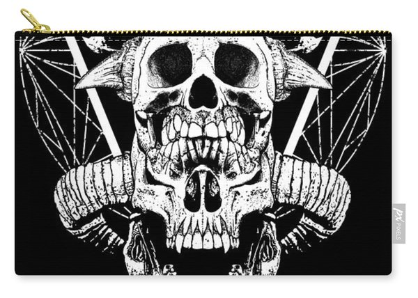 Mouth Of Doom Carry-all Pouch
