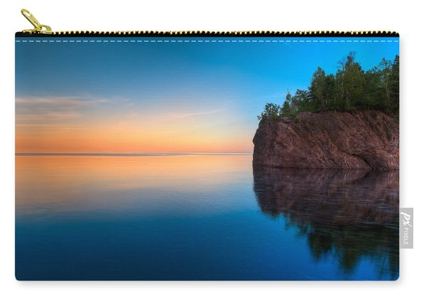 Mouth Of The Baptism River Minnesota Carry-all Pouch