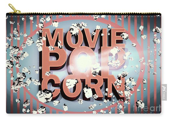 Movie Pop Corn Carry-all Pouch