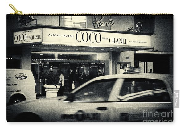 Movie Theatre Paris In New York City Carry-all Pouch
