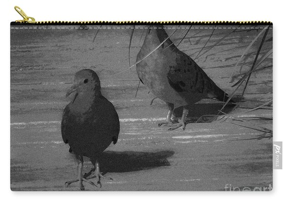 Mr And Mrs Dove Carry-all Pouch