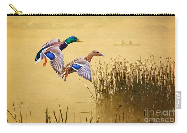 Mr. And Mrs. Mallard Carry-all Pouch