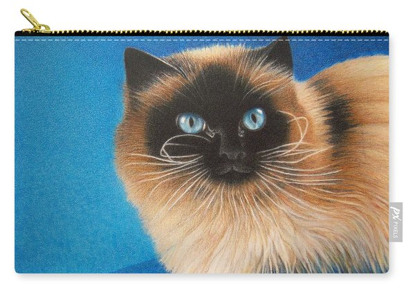Mr. Blue Carry-all Pouch