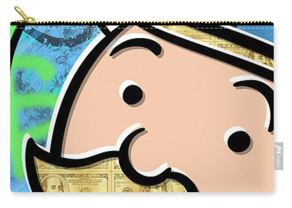 Mr Monopoly Carry-all Pouch