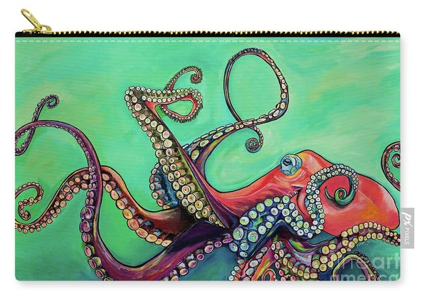 Mr Octopus Carry-all Pouch