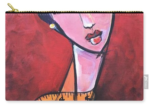 Ms. Bimba Fashionable Seamstress Carry-all Pouch