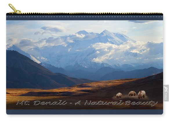 Mt. Denali National Park Carry-all Pouch