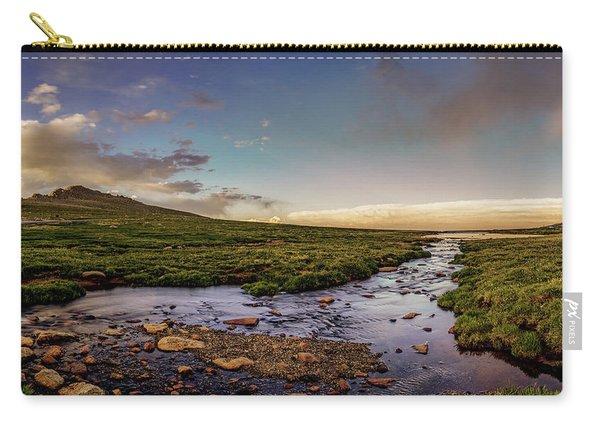 Mt. Evans Alpine Stream Carry-all Pouch