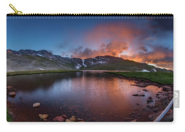 Mt. Evans Summit Lake Twilight Carry-all Pouch