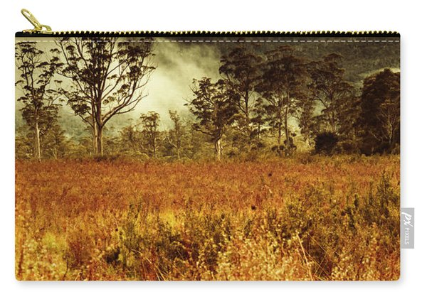 Mt Gell. Tasmania National Park Of Franklin Gordon Carry-all Pouch