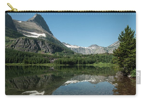 Mt. Grinnell Across Red Rock Lake Glacier National Park Carry-all Pouch