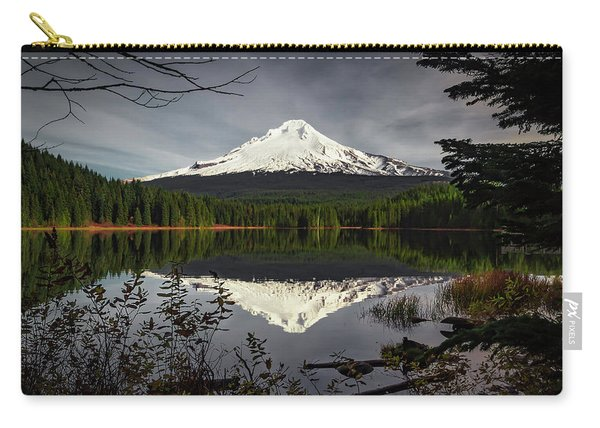 Mt Hood Reflection Carry-all Pouch