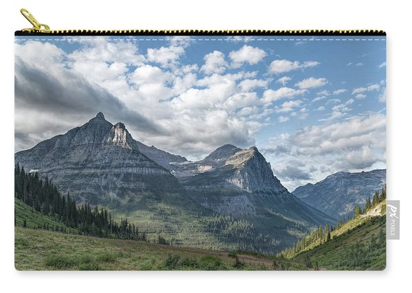Mt. Oberlin From Logan Pass Carry-all Pouch
