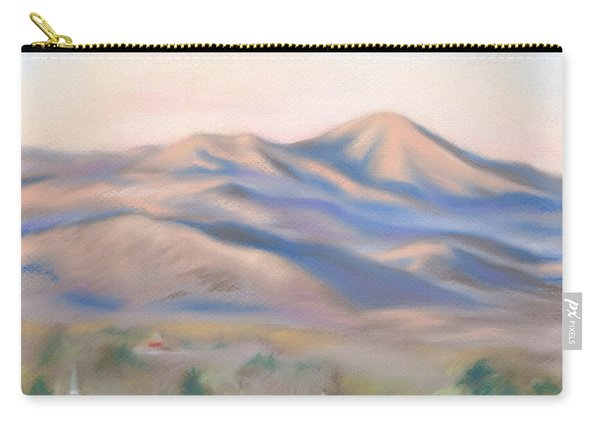 Mt. Pisgah Morning Over Asheville Carry-all Pouch