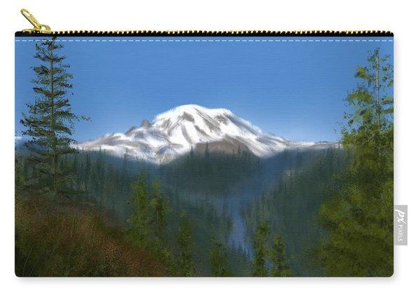Mt Rainier Carry-all Pouch