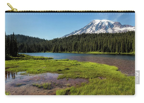 Mt Rainier From Reflection Lake, No. 2 Carry-all Pouch