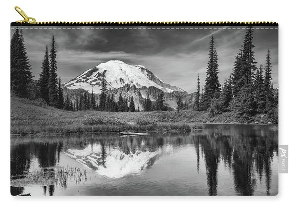 Mt Rainier In Reflection Carry-all Pouch