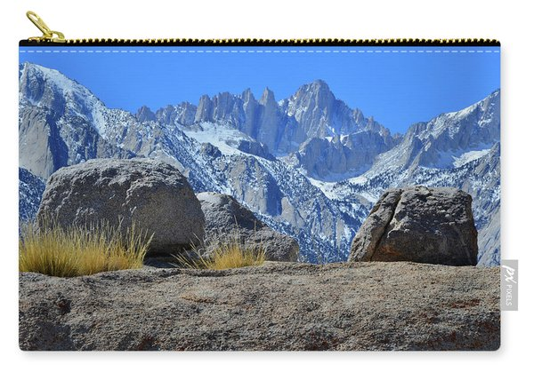 Mt. Whitney - Highest Point In The Lower 48 States Carry-all Pouch