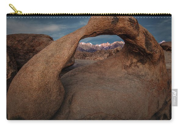 Mt. Whitney Through Mobius Arch Carry-all Pouch