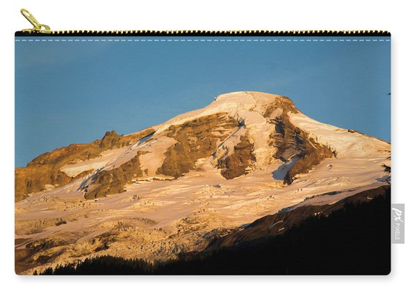 Mt.baker At Sunset  Carry-all Pouch