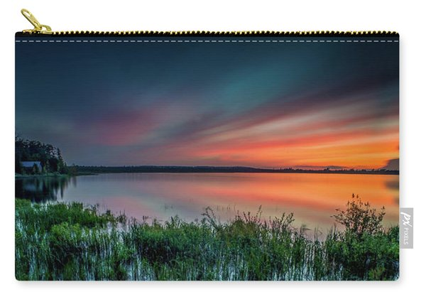 Mud Bay Sunset 4 Carry-all Pouch