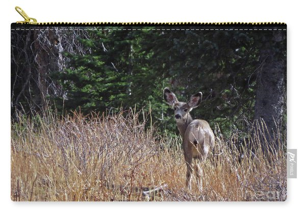 Mule Deer In Utah Carry-all Pouch