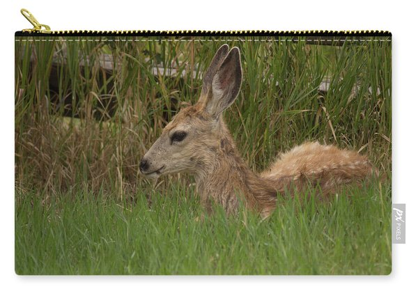 Muledeerfawn1 Carry-all Pouch