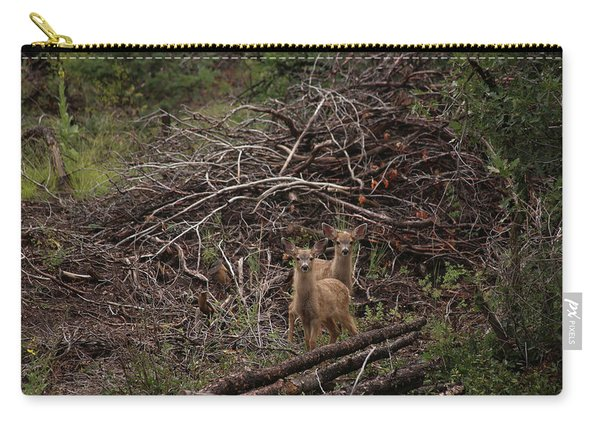 Muledeerfawns2 Carry-all Pouch