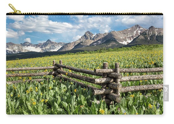 Mule's Ears And Mountains Carry-all Pouch