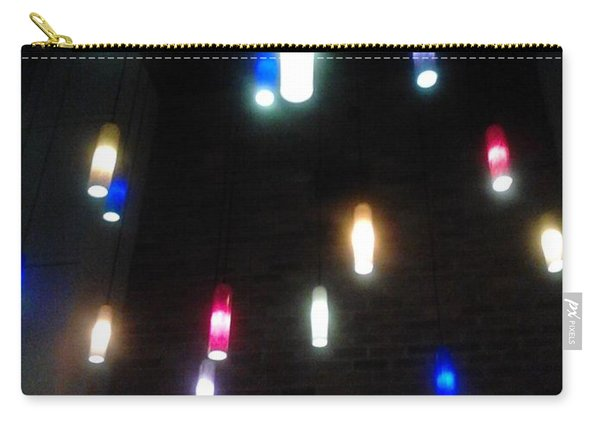 Multi Colored Lights Carry-all Pouch