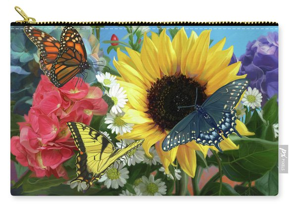 Multicolor Carry-all Pouch