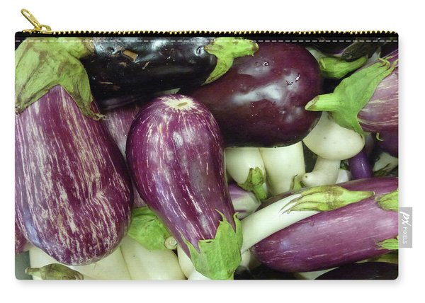 Multicolored Eggplants Carry-all Pouch