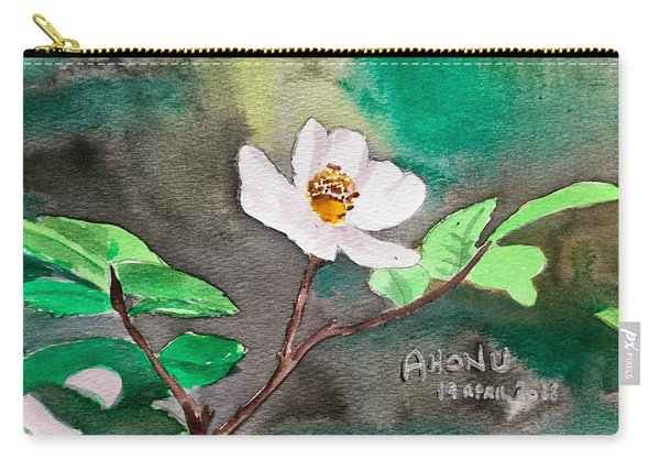 Multiflora Rosa Carry-all Pouch