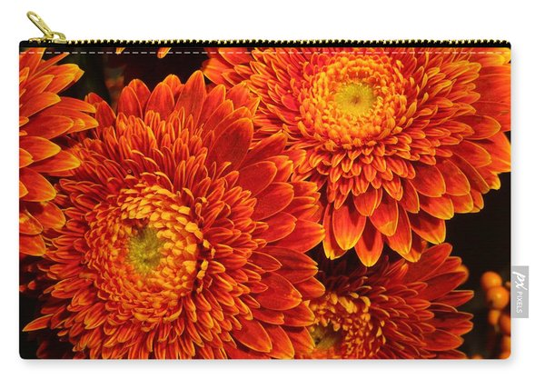 Mums In Flames Carry-all Pouch