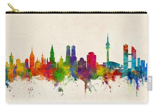 Munich Germany Skyline Carry-all Pouch